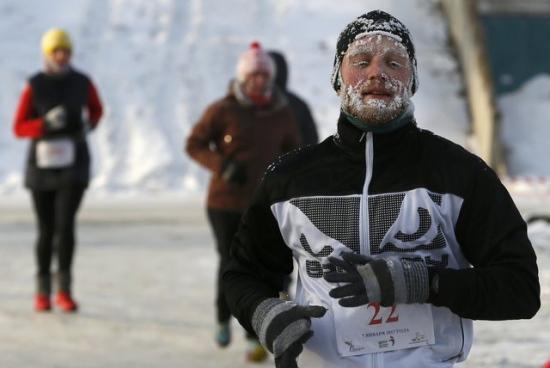 俄罗斯气温降至零下36度 莫斯科迎125年来最冷冬夜