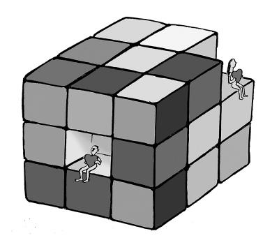 36块一字魔方拼球步骤图解