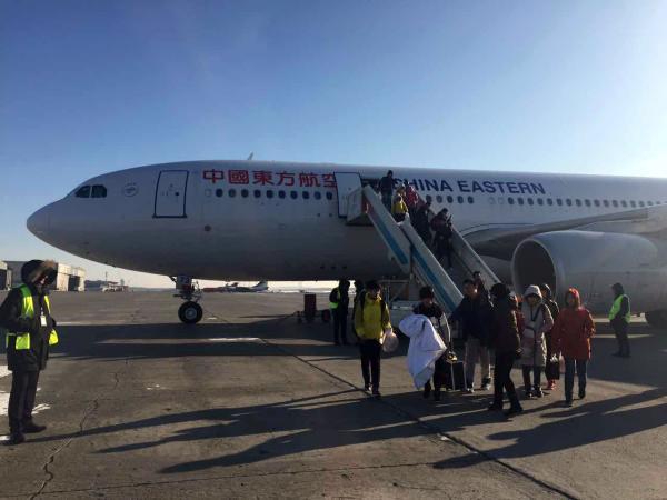 东航一架伦敦至上海的航班紧急迫降俄罗斯