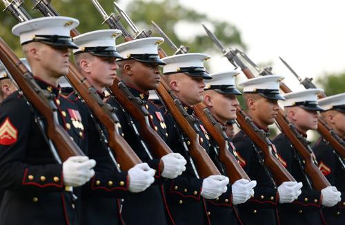 资料图片:美国海军陆战队新华社记者殷博古摄