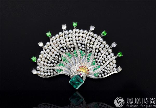 还有华裔珠宝设计师的丰吉巴黎高级珠宝feng.j haute joaillerie品牌.