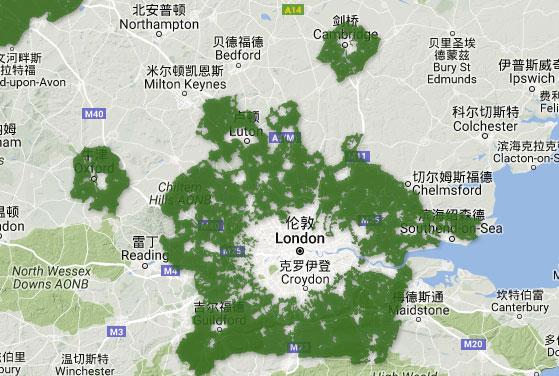 伦敦城市规划的变迁图片