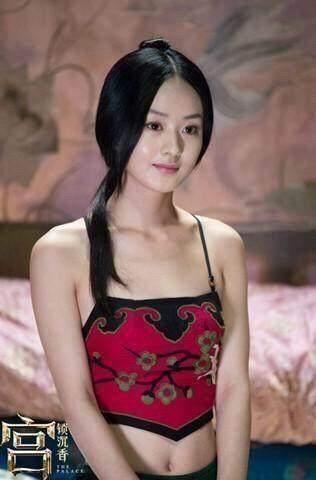 古装穿肚兜最美的7大女星,赵丽颖好美才第二,输给杨颖