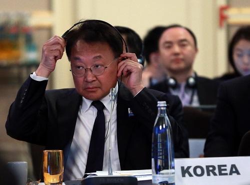 资料图:韩国企划财政部部长柳一镐。新华社记者罗欢欢摄