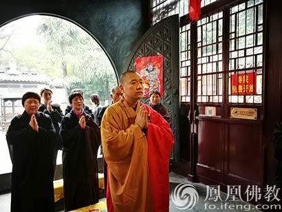 南京高座寺举行清明孝亲报恩法会 灵山法师率众礼祖