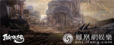 九州世界初见真容 《鲛珠传》概念场景大玩奇幻风