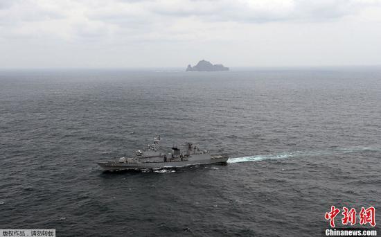 韩国欲在日韩争议岛屿附近进行海洋调查nbsp;日本抗议