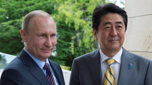 安倍访俄商联手开发争议岛屿 普京领土问题难让步