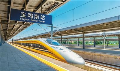 宝兰高铁陕西段 联调联试正式启动