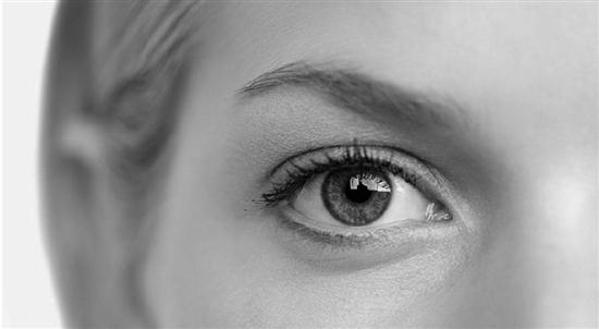 白内障眼部结构图