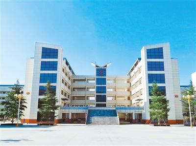西安惠安中学图片