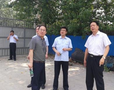 河南省高院巡视员到潢川检查指导执行工作
