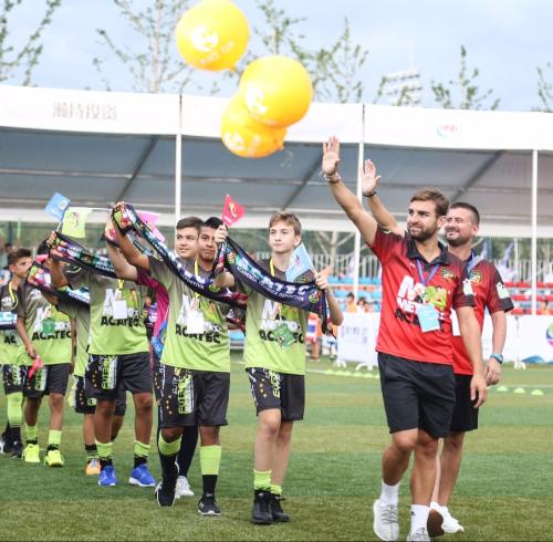"""第三届""""和平杯""""国际青少年足球邀请赛在沈阳开幕"""
