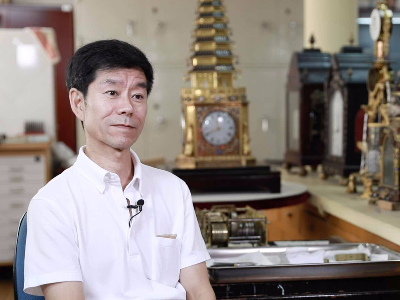 文物修复师王津:钟表修复技艺在故宫三百年没断