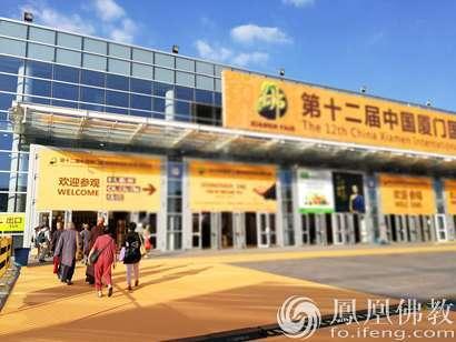 游客排队入场(图片来源:凤凰佛教)