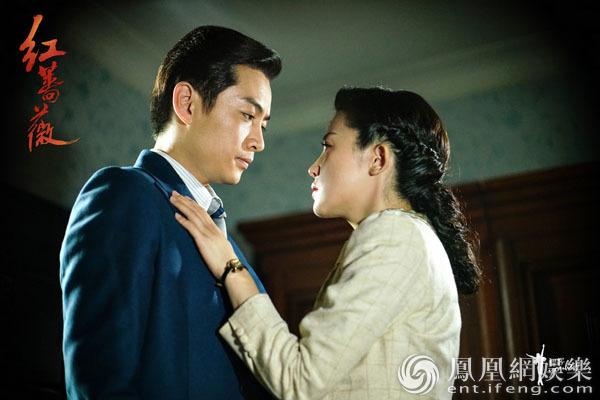 《红蔷薇》今晚结局 杨子姗被捕陈晓忧心落泪