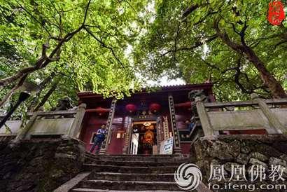 寺院名称:广西桂平市西山龙华寺