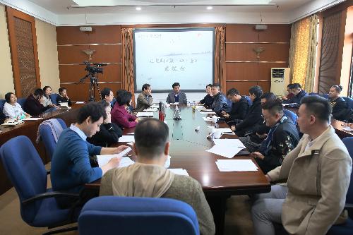中国儿艺开年新戏《鹬·蚌·鱼》在京建组