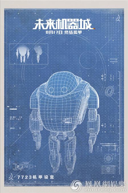 最强机甲设计蓝图曝光 《未来机器城》暑期最强动画