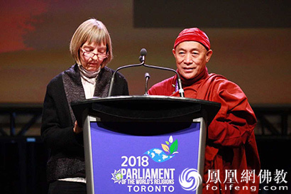 第七届世界宗教大会多伦多开幕 心道法师出席为地球祈愿_宗教-地球-祈愿-心道-法师