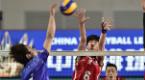 中国男子排球超级联赛河北男排主场不敌天津男排
