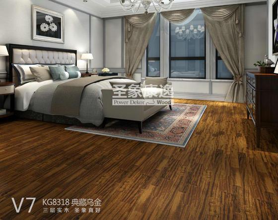 非洲乌金木三层实木地板:让家更有品质