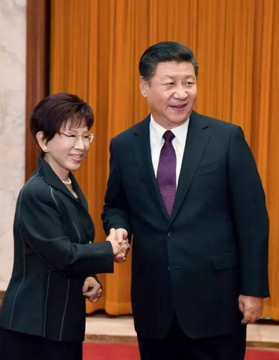 中国国民党主席洪秀柱访问大陆