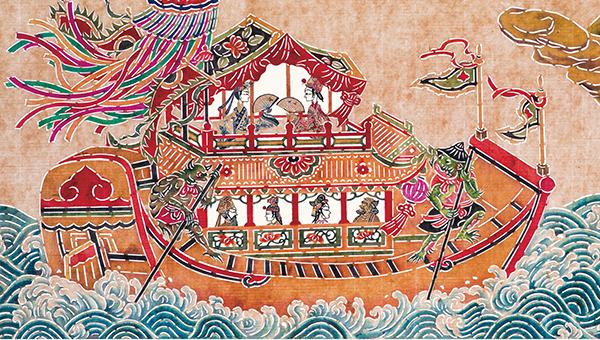形,船夫换成了乌龟和蛤蟆.-于虹呈 没有好的原创绘本 很可悲