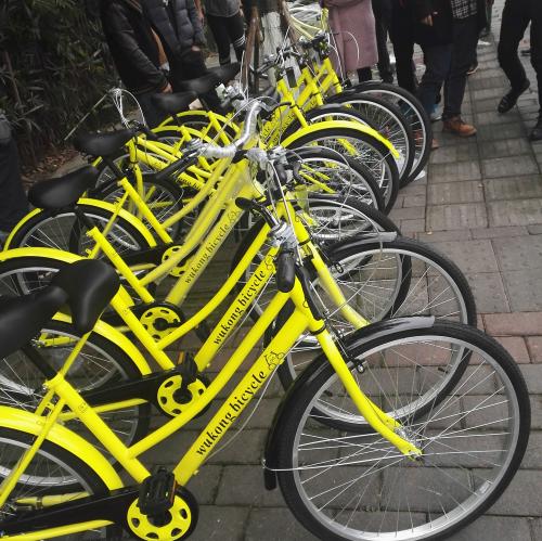 共享单车进入山城重庆,悟空单车预计投放10万