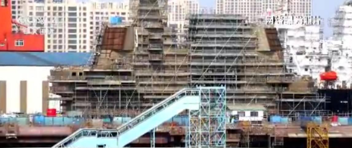 中国首艘国产航母下水指日可待?事实可能是这样的