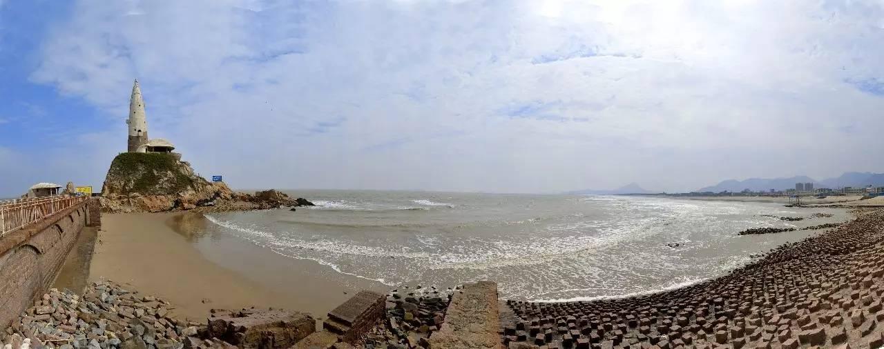 下沙海滩     滨海新城将依托快速公路和轨道交通,构筑老城与