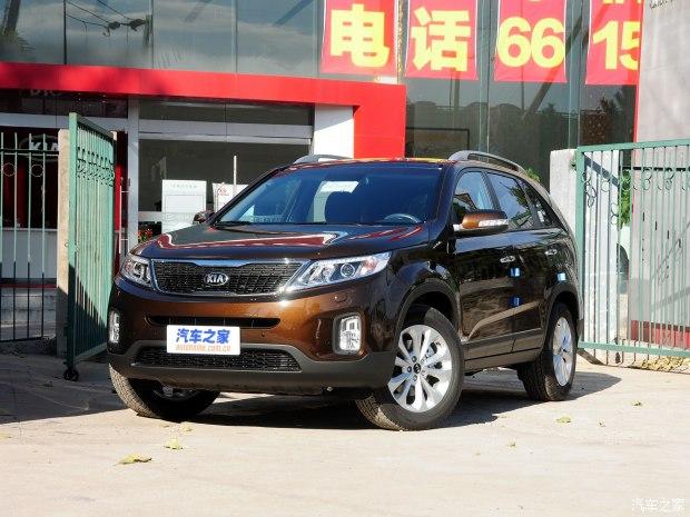 起亚(进口) 索兰托2013款2.4L 5座汽油至尊版