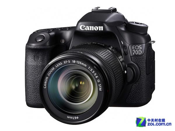搭载18-135mm镜头佳能70D套机7299元