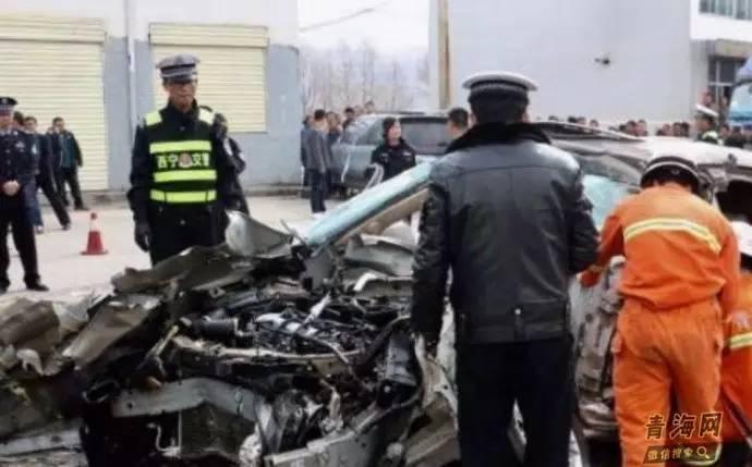 惨!青海一轿车追尾货车 3死1伤
