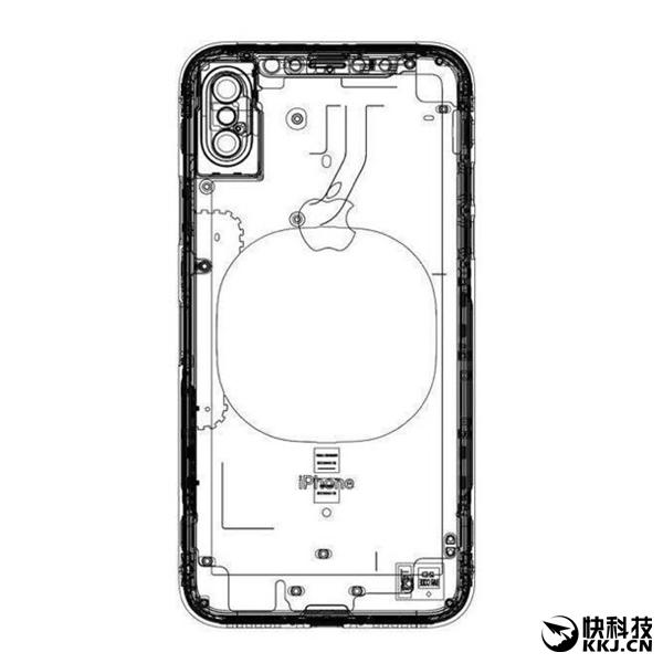 5米内无线充电!iPhone 8官方新设计图曝光:指纹前置