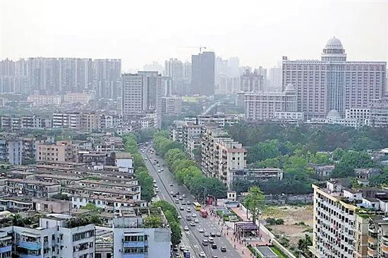 """广州工业大道变""""新城"""" 未来将成经济发展""""西引擎"""""""