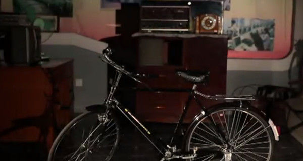 有一辆金狮自行车,说出去倍儿有面子.上世纪八十年代,是金狮