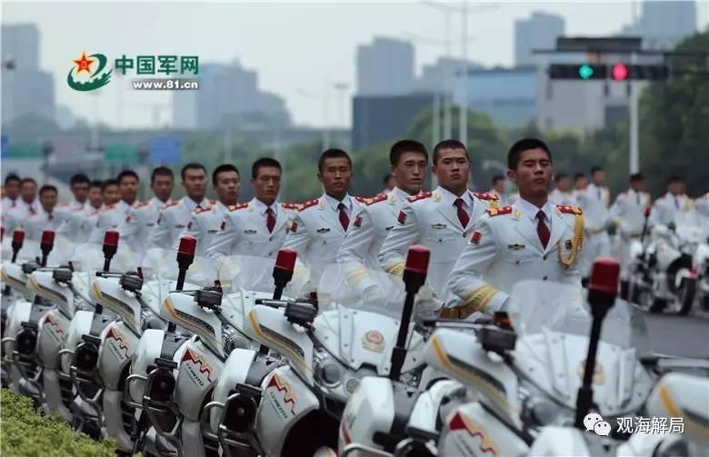 29国政要来华 骑摩托车护卫队啥来头?