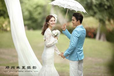 郑州婚纱摄影前十名 拍婚纱照花多少钱合适