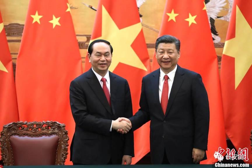 在南海与中国死扛的越南突然变脸