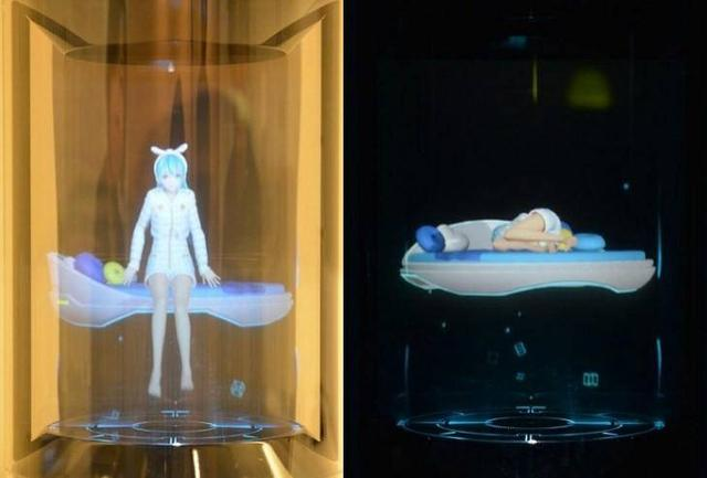 """日本推出养在玻璃罐子的""""虚拟女友"""",够贵够逼真!"""