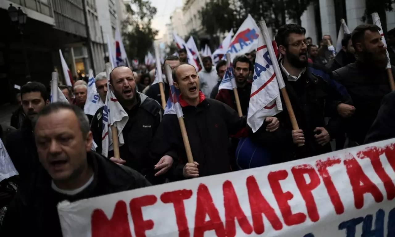 延迟退休--7年50次全国总罢工,希腊这是怎么了?