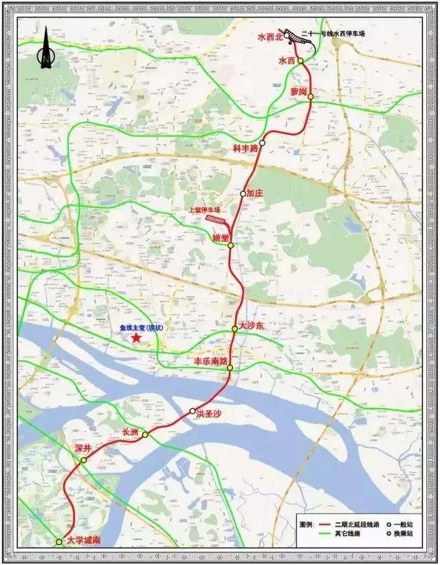 滨江路,二沙岛将通地铁!最新地铁线路36个站点曝光