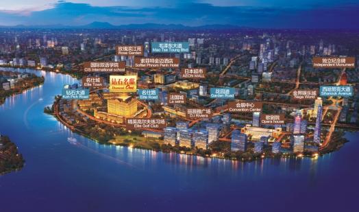 中国电商巨头进军东南亚 柬埔寨钻石岛投资潜力巨大