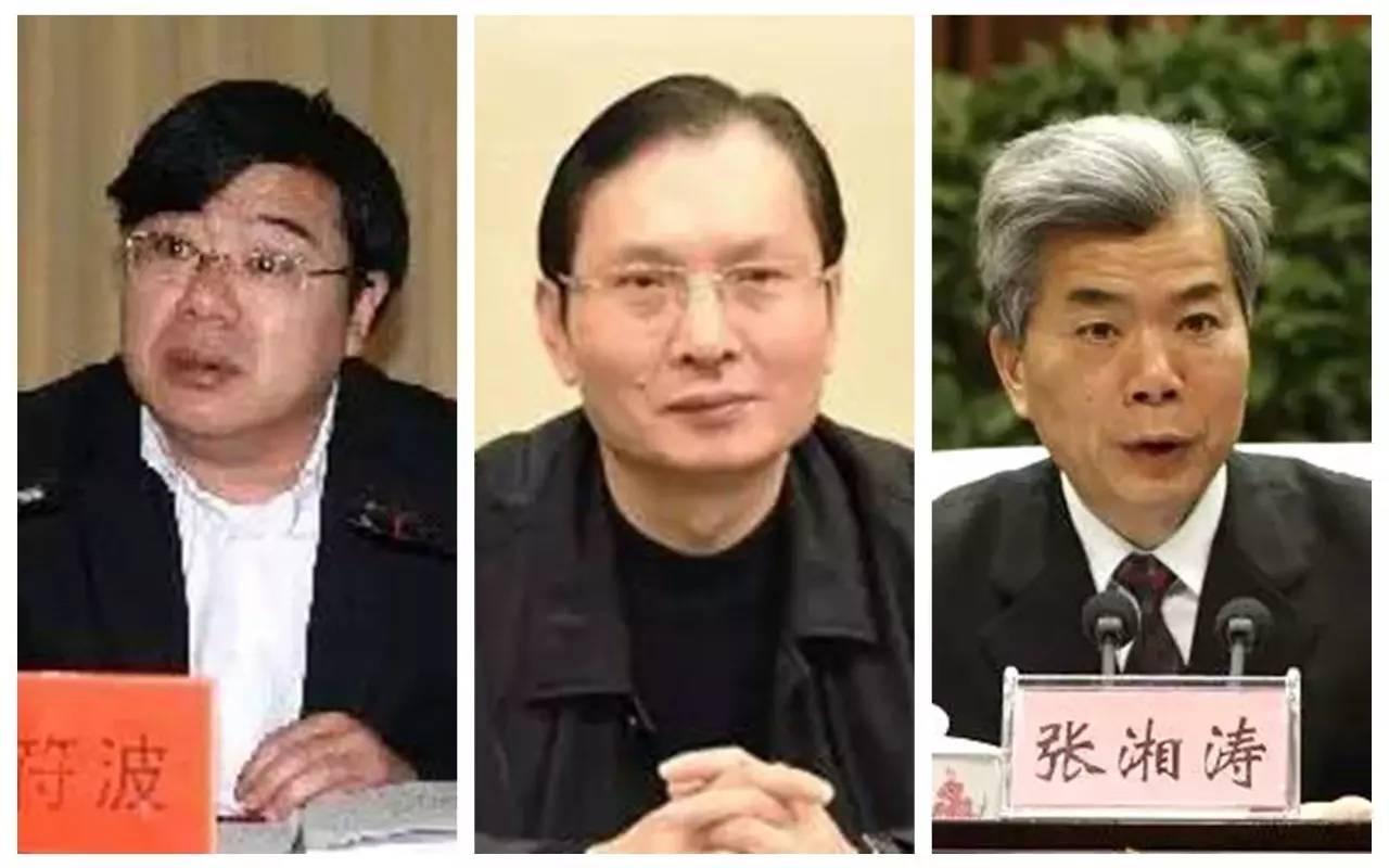 """周符波、唐国栋、张湘涛3名厅级领导干部严重违纪被""""双开"""""""