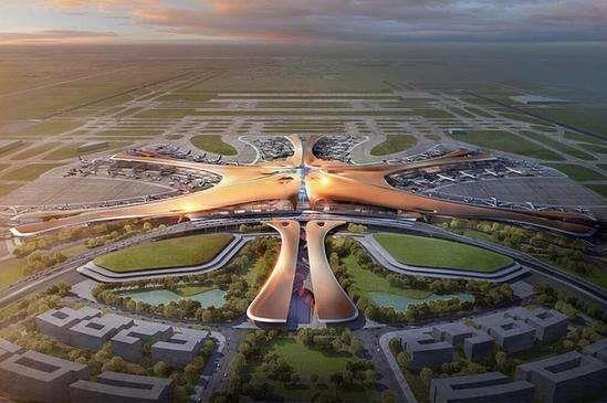 北京新机场曝光:全球最大航空枢纽诞生!