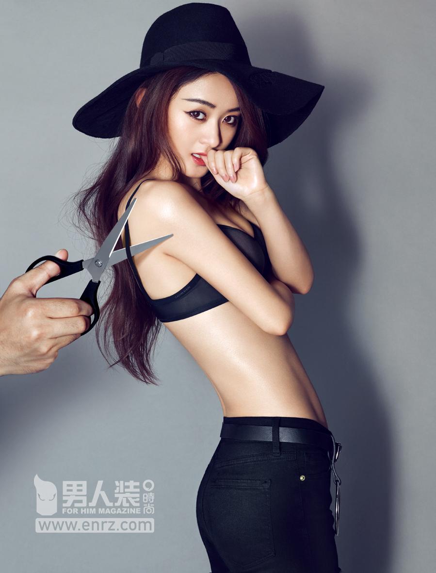 赵丽颖:性感的刀 柔软的鞘图片