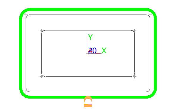 cad2007带角度的画法与圆相切画cad直线床的图片