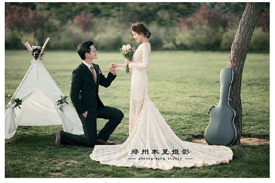 郑州婚纱摄影前十名哪家好 怎么拍出漂亮的婚纱照