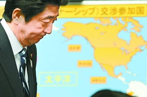 """美国退出TPP 日本真过了把群主瘾"""""""